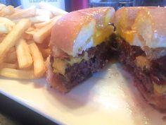 NYC Living :: Burger Bistro's Donut Burger