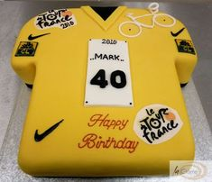 For my cycling mad hubby, whose birthday party coincides with the start of this years grand tour. Viva La Tour!