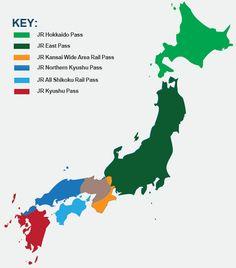Japan Regional Map