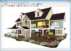 Beautiful Interior Design, Exterior Gingerbread Remodeling Software House Remodel  Software With Beautiful Breathtaking Free House Design Software Design  House Plans ...