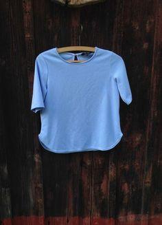 Kupuj mé předměty na #vinted http://www.vinted.cz/damske-obleceni/damske-obleceni-ostatni/18301533-top-new-look-vel-40  #bluetop #fashion