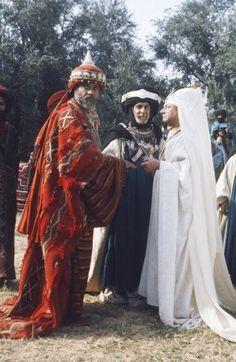 James Earl Jones as Balthazar, Donald Pleasence as Melchior, and Fernando Rey as Gaspar (Three Wise Men, Biblical Magi)