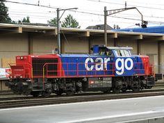 Schweizerische Bundesbahnen (SBB) / Chemins de Fer Fédéraux suisses (CFF) / Ferrovie Federali Svizzere (FFS) - Cargo, Am 843 064.