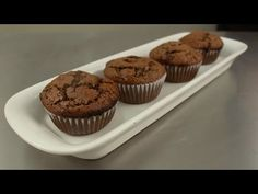 Muffins de chocolate - YouTube