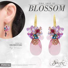 Pink Vase of Blossom