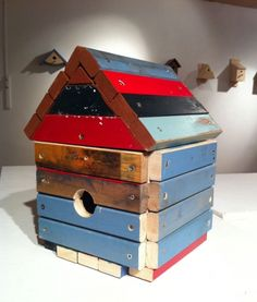 Just in time for the spring season, Henshaws' Arts and Crafts Centre based in Knaresborough is exhibiting a collection of nesting boxes and bird feeders ha