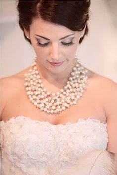{ Ask Cynthia }: Wedding Inspirations | Statement Necklaces | Pearls
