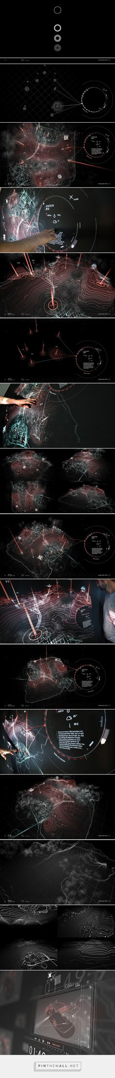 SCI Map on Behance. - a grouped images picture - SCI Map on Behance… – a grouped images picture – Pin Them All - Gui Interface, User Interface Design, Interaktives Design, Game Design, Projection Mapping, Ui Design Inspiration, Information Design, Grafik Design, Data Visualization