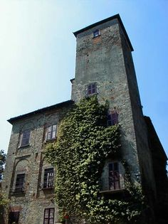 Tower of Castello Orsara Bormida, Piemonte, Italy. Dating back to Medieval times http://www.winepassitaly.it/index.php/en/travel-wineries-piedmont/maps-and-wine-zones/acquese-and-ovadese/itinerary/in-the-land-of-bears#!prettyPhoto
