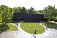 2011 Serpentine gallery pavilion. Designed by Peter Zumthor. Interior garden by Piet Oudolf. http://www.stageone.co.uk/projects/serpentine-gallery-pavilion-2011/
