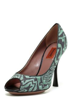 Missoni Peep Toe High Heel on HauteLook