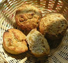 Banana Oat Bran Muffins With No Added Sugar. Photo by Jenny #2