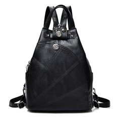 e52f0884ac57 Fashion Leisure Women Backpacks Women s PU Leather Backpacks Female school  Shoulder bags for teenage girls Travel Backpack.