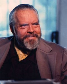 Orson Welles in the 1980s (photo: Gary Graver)