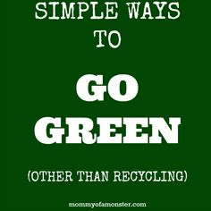 Here are some simple ways to help your family go green AND save money - and no, I'm not talking about just recycling! Ideas for getting the kids involved. Recycling Facts, Recycling Information, Recycling Ideas, Best Shower Cleaner, Love The Earth, Soap Making Supplies, Carbon Footprint, Go Green, Upcycling