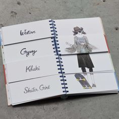 Flip Fashion: The Mix 'N' Match Lookbook. What if you could mix your outfit up with the styles of Ivy League and Grunge? Sixties with Twenties? Or Gypsy with It Girl? Flip Fashion is an interactive flip-book that lets you create numerous of looks from its beautifully illustrated and diverse range of outfits.