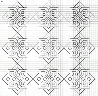 Blackwork Embroidery: More Fill Patterns