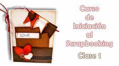 Curso de Iniciación al Scrapbooking - clase 1 Album Scrapbook, Scrapbook Sketches, Travel Scrapbook, Tutorial Scrapbook, Scrapbooks, Ideas Para, Holiday Decor, Blog, Crafts