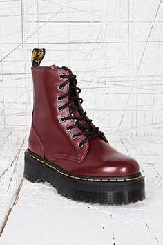 ShopStyle.co.uk: Dr. Martens Jadon Platform Boots in Red £145.00