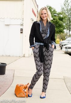 Target jumper with layers - making a jumpsuit work for cooler weather