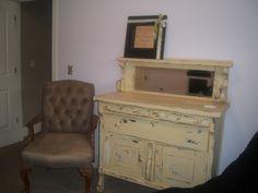 antique dresser redone