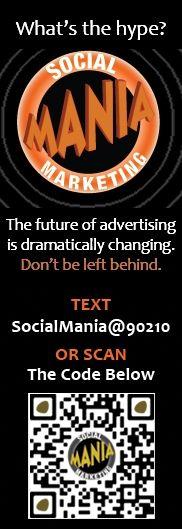 text socialmania TO 90210