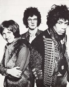 The Jimi Hendrix Experience Noel Redding, Buddy Miles, Mitch Mitchell, Band Of Gypsys, Rock Bands, Metal Bands, Jimi Hendrix Experience, Techno, Twist And Shout
