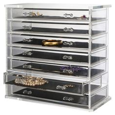 Found it at Wayfair - Deluxe 7 Drawer Jewelry Chest