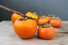 Persimmons have taken over my kitchen. I have baskets of persimmon all over the counter, some 15 cups of puree stacked in the freezer, and loaves of delicious persimmon walnut cake cooling on the dining table. Persimmons are available between September and December, usually peaking sometime in November. There are many varieties of persimmons, but …