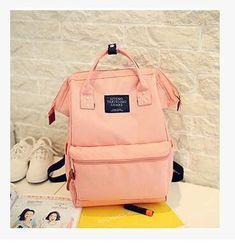 6b88b4e43fe3 Women Unique Fashion Cotton Canvas Backpack With Carry Handles