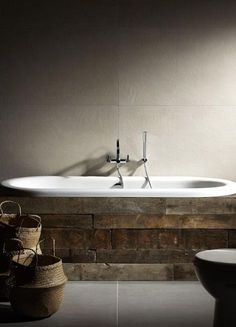 22 Wood Covering Ideas for Modern Bathroom Tubs, Adding Natural Beauty to…
