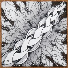 Zentangle: punzel by Maria Thomas