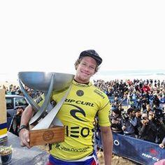 John John Florence wins World Surf League Title