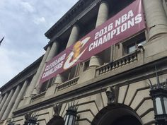 """The sign says it """"all"""" as in #Allin216"""