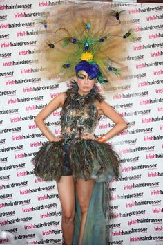 avant garde from MOHH www.mohh.ie winners of the Alternative Hair VISIONARY Ireland 2011 Award