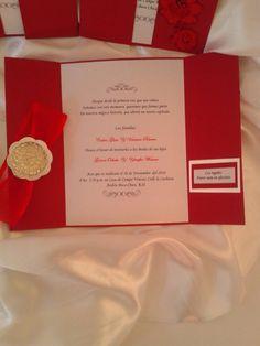 Invitacion boda Gerson y Yennifer