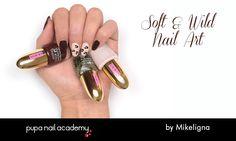 Soft & Wild #NailLook by Mikeligna | PUPA Nail Academy