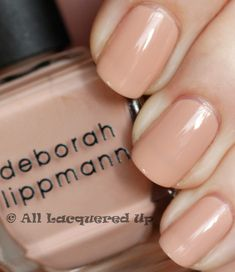 Try Deborah Lippmann nail polish - the BEST formaldehyde free polish available! Comes in a wide variety of fun colors.