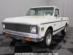 1972 Chevy Truck -what I would do to own this truck. Gahh!