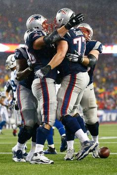 Indianapolis Colts vs. New England Patriots -  January 18, 2015 - the very eligible Solder scores!