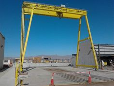 Photos of installations by Luagher, our distributor in Chile. Gantry Crane, Chile, Blue Prints, Chili