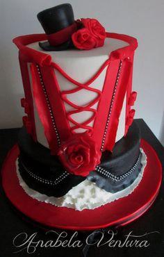 Burlesque Cake Burlesque Cake Cherries And Cake