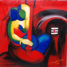 Music Painting by Nirendra Sawan