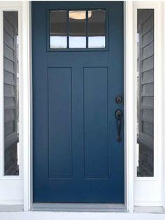 Exterior Door Colors, Front Door Paint Colors, Painted Front Doors, House Paint Exterior, Paint Colors For Home, Exterior Doors, Best Front Door Colors, House Front Door, House Doors