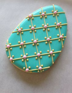 Easter egg cookie