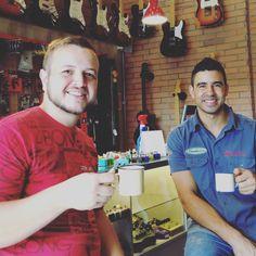 #cafedas18 com nosso grande amigo Bruno Ávila!