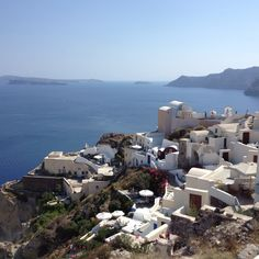 Magnificent view! @santorini, Greece! #paradise