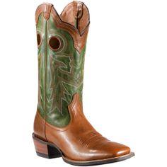 Mens Ariat Trail Head Brown Wildstock Cowboy Boot   AA Callisters