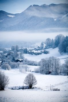 Winter in Bavaria.