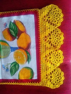 Granny Square Runner Pattern Diagram and Inspiration Crochet Edging Patterns, Crochet Motifs, Crochet Borders, Crochet Trim, Filet Crochet, Easy Crochet, Crochet Lace, Crochet Stitches, Yarn Crafts